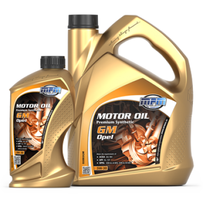 Motor Oil 5W-30 Premium Synthetic GM/Opel